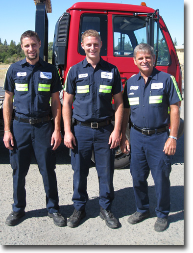 The working men of Classic Tow