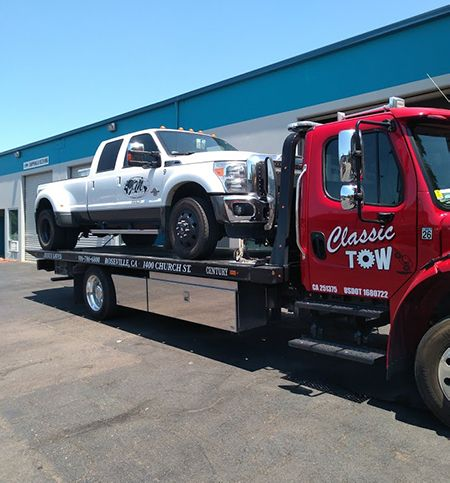 Flatbed Towing Services